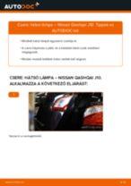 Autószerelői ajánlások - Nissan Qashqai j10 2.0 dCi Allrad Olajszűrő cseréje
