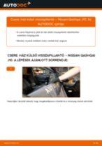 Autószerelői ajánlások - Nissan Qashqai j10 2.0 dCi Allrad Rugózás cseréje