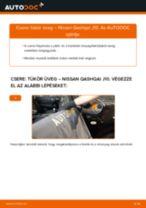 Autószerelői ajánlások - Nissan Qashqai j10 2.0 dCi Allrad Külső visszapillantó cseréje