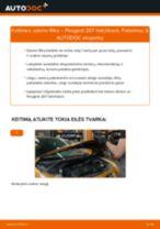 Automechanikų rekomendacijos PEUGEOT PEUGEOT 207 (WA_, WC_) 1.6 HDi Valytuvo gumelė keitimui