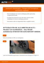DIY-Leitfaden zum Wechsel von Stoßdämpfer beim PEUGEOT 207