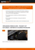 Advies en uitleg voor het vervangen van het Remklauw revisieset van de Mercedes W169