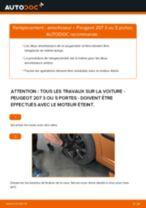 Comment changer : amortisseur arrière sur Peugeot 207 3 ou 5 portes - Guide de remplacement