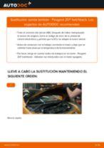 Cómo cambiar: sonda lambda - Peugeot 207 hatchback | Guía de sustitución