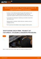 Ford Fiesta Mk5 Ganasce Freno sostituzione: tutorial PDF passo-passo
