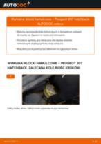 Jak wymienić klocki hamulcowe przód w Peugeot 207 hatchback - poradnik naprawy