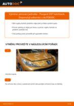 Jak vyměnit přední pérovací jednotka na Peugeot 207 hatchback – návod k výměně