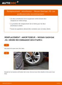 Comment effectuer un remplacement de Amortisseurs sur 1.5 dCi Nissan Qashqai J10