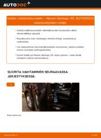 Kuinka vaihtaa Raitisilmasuodatin 1.5 dCi Nissan Qashqai j10 -autoon