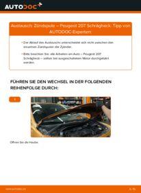 Wie der Wechsel durchführt wird: Zündspule 1.4 HDi Peugeot 207 WA tauschen