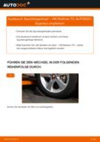 Installation von Spurkopf VW MULTIVAN V (7HM, 7HN, 7HF, 7EF, 7EM, 7EN) - Schritt für Schritt Handbuch