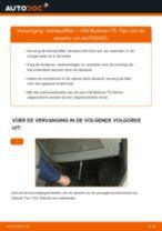 Tips van monteurs voor het wisselen van VW VW Multivan T5 2.0 TDI Veerpootlager