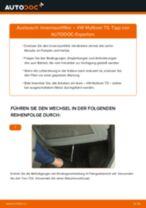Kabinenluftfilter VW MULTIVAN V (7HM, 7HN, 7HF, 7EF, 7EM, 7EN) einbauen - Schritt für Schritt Tutorial