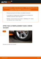 Comment changer : rotule de direction sur VW Multivan T5 - Guide de remplacement