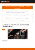 Tutorial paso a paso en PDF sobre el cambio de Cables De Bujías en Opel Corsa C
