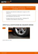 Come cambiare biellette barra stabilizzatrice della parte anteriore su VW Multivan T5 - Guida alla sostituzione