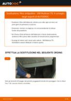 Come cambiare filtro antipolline su VW Multivan T5 - Guida alla sostituzione