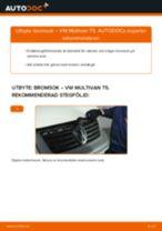 Byta bromsok fram på VW Multivan T5 – utbytesguide