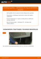Slik bytter du kupefilter på en VW Multivan T5 – veiledning