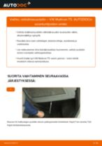 Kuinka vaihtaa raitisilmasuodatin VW Multivan T5-autoon – vaihto-ohje