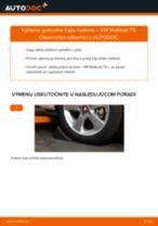 Ako vymeniť a regulovať Čap riadenia VW MULTIVAN: sprievodca pdf