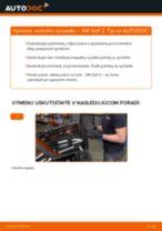 Podrobný PDF tutorial k výmene Mercedes W638 Bus Lozisko kolesa