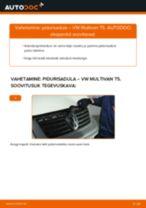 VW MULTIVAN Õõtshoob vahetus: tasuta pdf