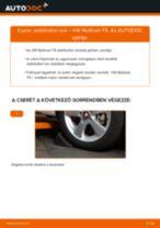 Tanulja meg hogyan oldja meg az VW első jobb Összekötőrúd problémáját