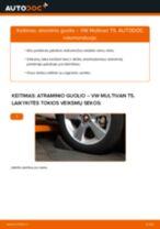 Automechanikų rekomendacijos VW VW T4 Transporter 2.4 D Rato guolis keitimui