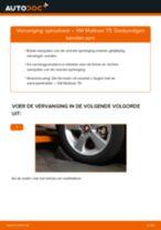 Tips van monteurs voor het wisselen van VW VW Multivan T5 2.0 TDI Ruitenwissers