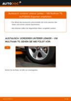 Vorderer unterer Lenker selber wechseln: VW Multivan T5 - Austauschanleitung