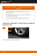 Domlager vorne selber wechseln: VW Multivan T5 - Austauschanleitung