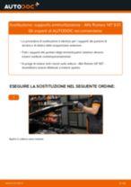 Fiat Panda 169 Flessibile d'aspirazione, Filtro aria sostituzione: tutorial PDF passo-passo