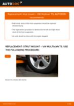 Auto mechanic's recommendations on replacing VW VW T4 Transporter 2.4 D Anti Roll Bar Bushes