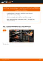 Bytte Kupefilter Renault Trafic Minibuss T5: handleiding pdf
