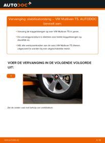 Vervangen: Stabilisatorstang VW MULTIVAN