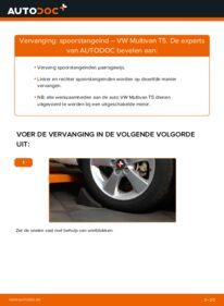 Vervangen: Stuurkogel VW MULTIVAN