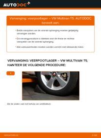 Vervangen: Veerpootlager VW MULTIVAN