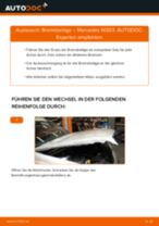 Schritt-für-Schritt-PDF-Tutorial zum Bremsbeläge-Austausch beim MERCEDES-BENZ C-CLASS (W203)