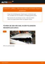PDF-Tutorial zur Wartung für S-Klasse