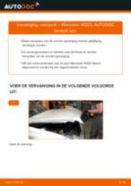 Hoe veerpoot vooraan vervangen bij een Mercedes W203 – Leidraad voor bij het vervangen
