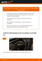 Hoe remschijven achteraan vervangen bij een Mercedes W203 – Leidraad voor bij het vervangen