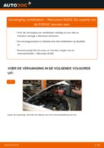 Hoe remblokken vooraan vervangen bij een Mercedes W203 – Leidraad voor bij het vervangen