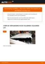 Hoe luchtfilter vervangen bij een Mercedes W203 – Leidraad voor bij het vervangen
