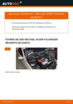 Reparatur- und Servicehandbuch für MERCEDES-BENZ GLK