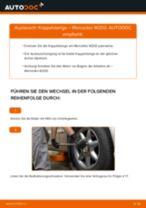 Wie Pendelstütze MERCEDES-BENZ C-CLASS auswechseln und einstellen: PDF-Anleitung