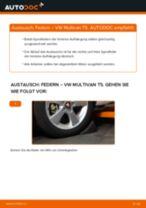 Federn hinten selber wechseln: VW Multivan T5 - Austauschanleitung