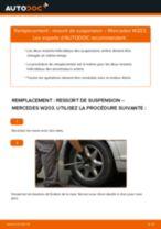 Notre guide PDF gratuit vous aidera à résoudre vos problèmes de MERCEDES-BENZ Mercedes W203 C 180 1.8 Kompressor (203.046) Ressort d'Amortisseur