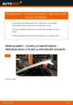 Notre guide PDF gratuit vous aidera à résoudre vos problèmes de MERCEDES-BENZ Mercedes W203 C 180 1.8 Kompressor (203.046) Biellette De Barre Stabilisatrice