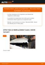 Changement Essuie-Glaces avant et arrière MERCEDES-BENZ GLC : guide pdf